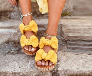 House slippers can give you a comfortable feel